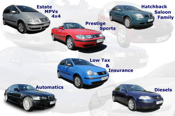 Click any of the cars below to view our range of available vehicles